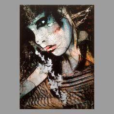 TrxtrArchival pigment edition on deep frame canvasSigned and numbered.Edition of canvas hand embellished with marker pen and spray inches Marker Pen, Dark Side, The Darkest, Halloween Face Makeup, Deep, Dance, Canvas, Frame, Artist