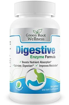 Digestive Enzyme Supplement  Supports Food Digestion Pancreatic Functions & Reduces Bloating  Contains Protease Amylase & Lipase  Supports Digestion of Fats Carbohydrates & Proteins and More  Free Guide to Digestive Health Included  100 Capsule Count http://10healthyeatingtips.net/digestive-enzyme-supplement-supports-food-digestion-pancreatic-functions-reduces-bloating-contains-protease-amylase-lipase-supports-digestion-of-fats-carbohydrates-proteins-and-more-f/