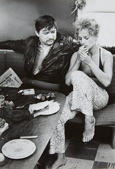 Rainer Werner Fassbinder & Hanna Schygulla