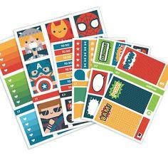 This bundle includes SIX (6) sheets: 1 checklist/functional sheet, 1 ombre box heart checklist sheet, 1 full box sheet, 1 half box sheet, 1