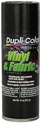 Dupli-Color HVP104 Gloss Black High Performance Vinyl and Fabric Spray - 11 oz.