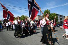 Syttende Mai - May 17th - Norwegian parade in Ballard, Seattle