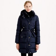 It's my Wonderland jacket - just longer! Size M - navy first, then the black, but both are good. To keep my bum warm :)