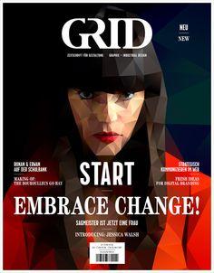 Neues Magazin: GRID – Zeitschrift für Gestaltung