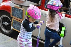 Denver Union Station Kids Scooters and Ice Cream http://www.haleebandhoney.com/saturdays-are-for-scootin/