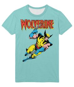 Marvelous T-shirt Wolverine X-Men Action marvel Comics Mutant – Search tags  08a37f5be06