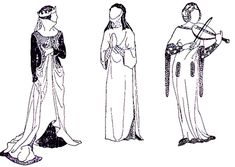 Early Gothic-13th & 14th Centuries Clothing Review