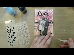 Made by Sannie: Love is in the Air card with video tutorial