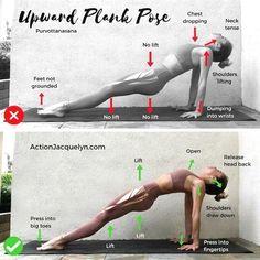 Upward plank #Yogasequences #YogaInspiration