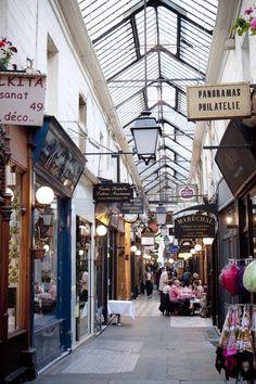 Paris, Passage des Panoramas