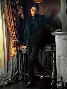 Kim Ji Hoon - Singles Magazine May Issue '14