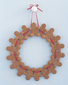 "See the ""Gingerbread-Man Wreath"" in our  gallery"