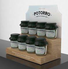 Diseño y producción en reboard y forex expositores mermeladas Potorro. Aritz linazisoro&The image company.