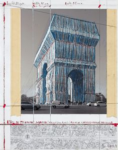 Official website of artists Christo and Jeanne-Claude. Features photographs and texts about completed projects and works in progress. Christo And Jeanne Claude, Gaulle, Unknown Soldier, Triomphe, Create Words, Yarn Bombing, Enamel Paint, 2017 Photos, Paris