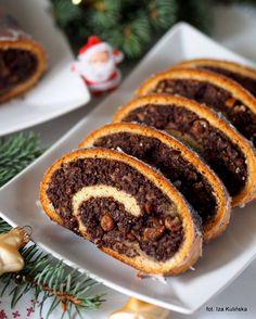 Polish Recipes, Polish Food, Strudel, Christmas Eve, Sushi, Deserts, Dessert Recipes, Ethnic Recipes, Sweets