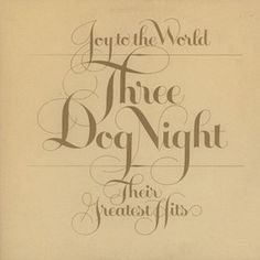 Three Dog Night - Joy To The World - Their Greatest Hits USA 1975 Lp vg++