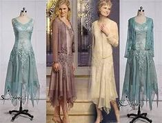 2015 New Beads Appliques Elegant Tea Length Short Mother ...