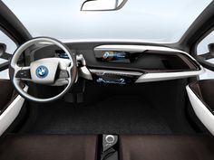2013  BMW i3 EU specs  CAD generated  Cutaways  Colored