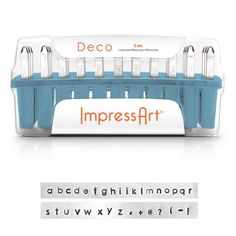 Enter to win the ImpressArt Deco Font Metal Stamping Set from #AllFreeJewelryMaking and @ImpressArt! http://www.fc7.us/CpLZ0