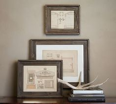 """Barn Wood Frames #potterybarn Overview $39 - $49 8x10"""" & 11x14"""" This frame's simple design has a rustic look with a refined aesthetic. KEY PRODUCT POINTS Made of glass and albus wood with a lacquer finish."""