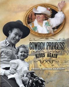 "Cowboy Princess Rides Again:   Continuation and  expansion of The Cowboy Princess: Life With My Parents, Roy Rogers and Dale Evans.  Since writing her first book, Cheryl has gotten more questions about her family, The Sons of the Pioneers, Trigger ""The Smartest Horse in the Movies"" and Gabby Hayes when she speaks at events.  With her new book, she continues her narrative and adds over 300 new pictures. There are also two chapters on caring for aging parents.  One written by the author ..."