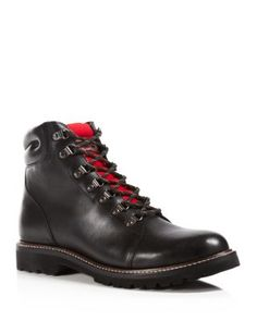 Wolverine Copeland Boots    Leather/rubber/nylon   Made in USA   Leather upper   Nylon tongue, leather lining   Logo on contrast tongue   VIBRAM® rubber sole   Web ID:1498534