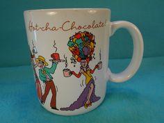 Hallmark Christmas Mug, Vintage Ceramic Hallmark Christmas Mug by SETXTreasures on Etsy