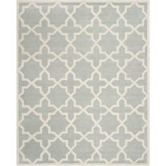 Safavieh Chatham Giovanni Hand Tufted Wool Area Rug, Beige