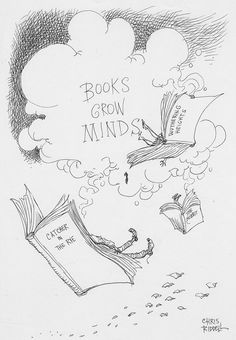 The 30 best librarythings images on pinterest library books ha ha books grow minds by chris riddell fandeluxe Image collections