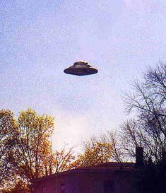 UFO? I wish there was more information with a lot of these photos.