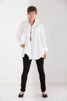 Artist's Smock Shirt by Planet (Woven Shirt) Sixties Fashion, 60 Fashion, Fashion Over 50, Party Fashion, Spring Fashion, Womens Fashion, Chic Outfits, Fashion Outfits, Spring Outfits