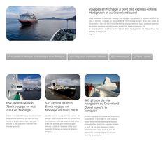 #Hurtigruten 1700 photos 2 voyages in #Norway and 1 trip in #Greenland #responsive design