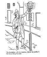 Early American Home Life Coloring Page drawings Pinterest