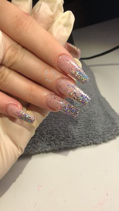 Cute Acrylic Nails 590886413593482821 - 52 Newest Acrylic Nail Designs Ideas To Try This Year Nageldesign Source by Acrylic Nails Natural, Best Acrylic Nails, Natural Nails, Acrylic Nails Coffin Glitter, Coffin Acrylics, Acrylic Nail Art, Gorgeous Nails, Love Nails, Pretty Nails