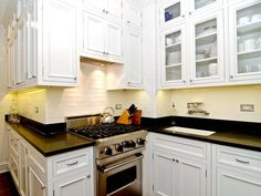 After: Chef's Kitchen - Small Space Gourmet Kitchen on HGTV