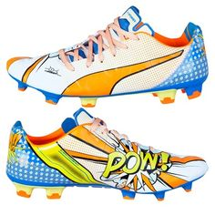 0358b6fc6 Puma evoPOWER 1.2 Graphic POP Firm Ground Football Boots White