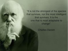 So much for survival of the fittest... I may be small but I adapt very well =)