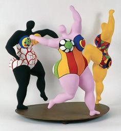 Exposition Niki de Saint Phalle chez ChrisdeLorraine