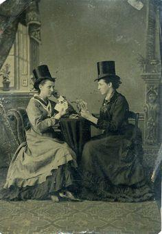 vintage everyday: Women at Their Leisure – Interesting Photos Show ...