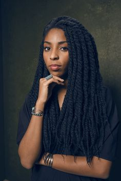 2015 Sundance Film Festival Portraits, Jessica from the Daily Show. Beautiful Dark Skinned Women, Beautiful Black Women, Beautiful People, Curly Hair Styles, Natural Hair Styles, Jessica Williams, Marley Twists, Female Character Inspiration, Sundance Film Festival