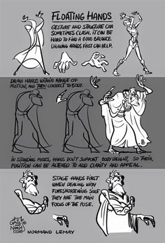 """Tuesday Tips - """"Pick A Side"""" To create appeal and clarity in your figure drawing (or any character drawing), try to simplify an overall side of the body and to keep the details (limbs sticking out,. Gesture Drawing, Anatomy Drawing, Drawing Poses, Drawing Tips, Drawing Tutorials, Art Tutorials, Drawing Hands, Drawing Stuff, Painting Tutorials"""