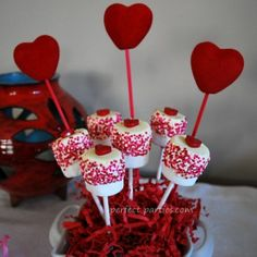 candy lollipop centerpieces | Marshmallow Lollipops for Party Favors or Party Treats