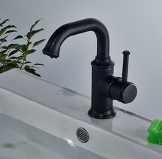 Rozin® Bathroom Single Hole Deck Mount Sink Faucet One Handle Vessel Mixer Tap Oil Rubbed Bronze - - Amazon.com