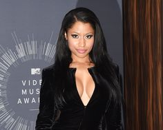 Splendid paragon of beauty Nicki Minaj