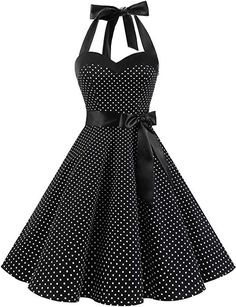 Shop the latest collection of DRESSTELLS Vintage Rockabilly Polka Dots Audrey Dress Retro Cocktail Dress from the popular stores - all in one Pretty Dresses, Sexy Dresses, Vintage Dresses, Casual Dresses, Elegant Midi Dresses, 50s Dresses, Event Dresses, Wedding Dresses, Dresses For Work