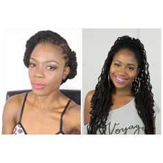 Late Summer Early Fall Loc Hairstyle Collab Tutorial with Jasmine Rose/J...