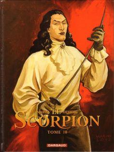 Le Scorpion tome 10 édition spéciale par Desberg et Marini, édition Dargaud. #Scorpion #Dargaud #BD #Marini #Desberg