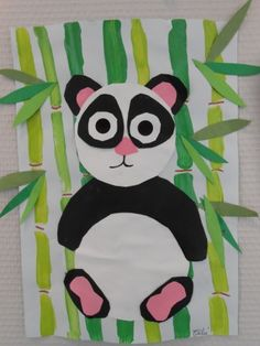 craft zoo animals for kids & craft zoo animals for kids . zoo animals art and craft for kids . Animal Art Projects, Easy Art Projects, Projects For Kids, Zoo Animals For Kids, Kids Zoo, Panda Craft, Classe D'art, China Crafts, Kindergarten Art Projects