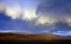 Evening Storm, on the mesa west of Taos, New Mexico