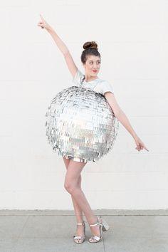 DIY Disco Ball Costume | studiodiy.com